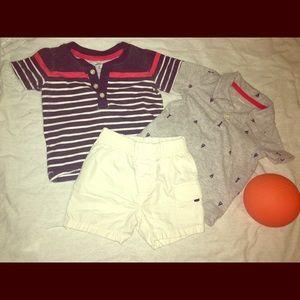 ❣️❣️Carter's Baby Boy Short Set🏝🏝